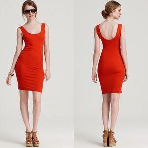 BCBGMaxaria Etania Saffron Dress